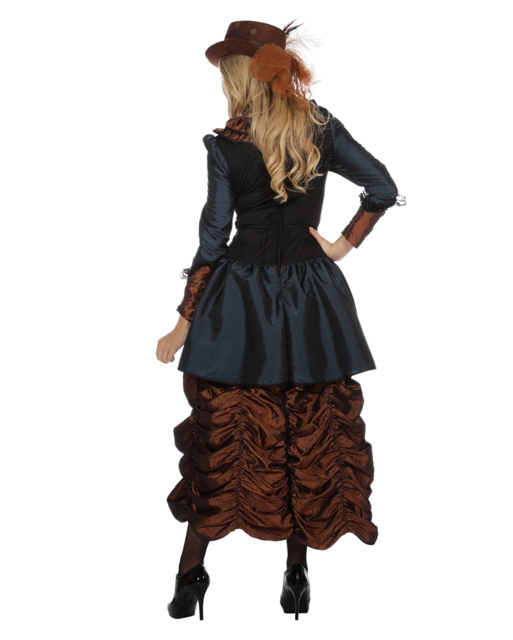 Damen Premium Steampunk Damen Premium Kostüm Kostüm Damen Steampunk Steampunk dxeCoB