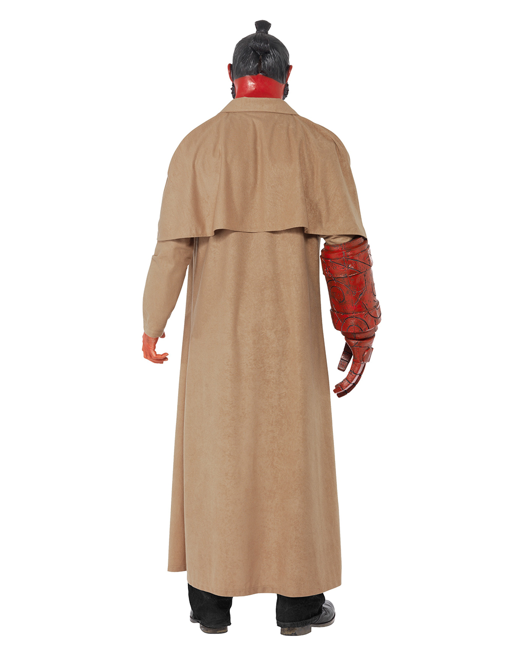Original hellboy costume hellboy coat mask with - Costume halloween homme original ...