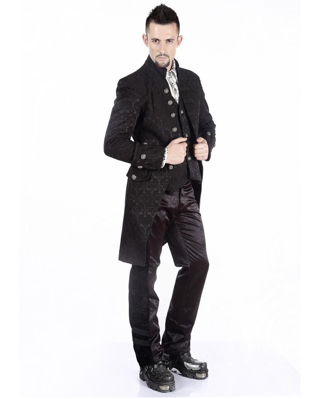 Viktorianischer Gothic Aristokrat Herren Mantel Steampunk ...